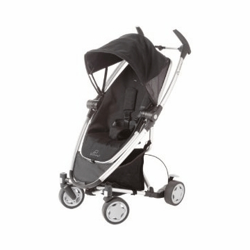 Quinny Zapp Xtra Folding Seat - Rocking Black