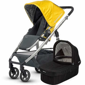 Uppababy Cruz Stroller & Bassinet - Yellow/Black