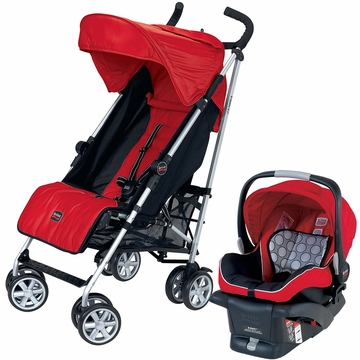 Britax B-Nimble & B-Safe Travel System - Red