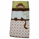 Lambs & Ivy Nap Mat - Brown Monkey