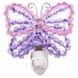 Lambs & Ivy Beaded Night Light - Butterfly
