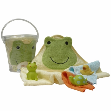 Lambs & Ivy Bath to Go - Ribbit Ribbit