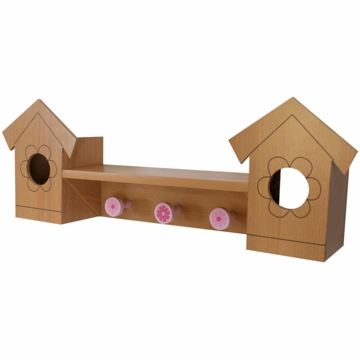 Lambs & Ivy Mystic Forest 3 in 1 Wall D�cor, Shelf & Pegs