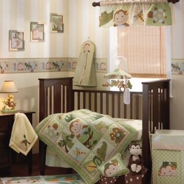 Lambs & Ivy Papagayo 5 Piece Crib Bedding Set