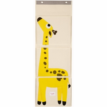 3 Sprouts Wall Organizer in Giraffe