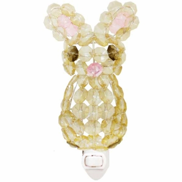Lambs & Ivy Beaded Night Light - Bunny
