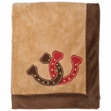 Lambs & Ivy Giddy Up Blanket