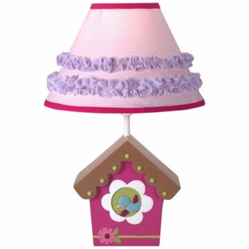 Lambs & Ivy Mystic Forest Lamp with Shade