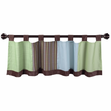 Lambs & Ivy Little Hoot Window Valance