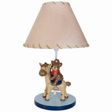 Lambs & Ivy Giddy Up Lamp with Shade