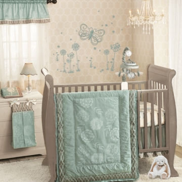 Lambs & Ivy Tiffany 5 Piece Crib Bedding Set