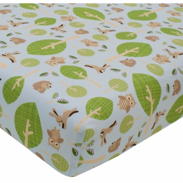 Lambs & Ivy Little Hoot Crib Sheet