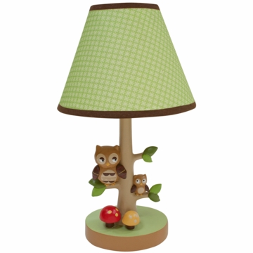 Lambs & Ivy Little Hoot Lamp with Shade