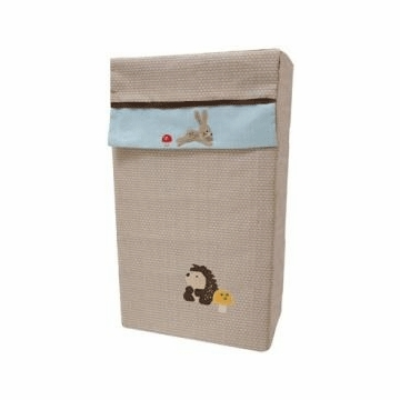 Lambs & Ivy Little Hoot Collapsible Hamper