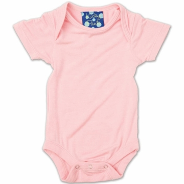 KicKee Pants Short Sleeved Onesie - Lotus - 3 to 6 Months