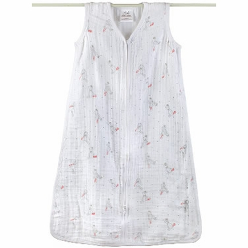 Aden + Anais Muslin Sleeping Bag - Make Believe, Ragdoll - Small