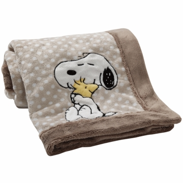 Lambs & Ivy BFF Snoopy Blanket
