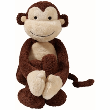 Lambs & Ivy Plush - Brown Monkey