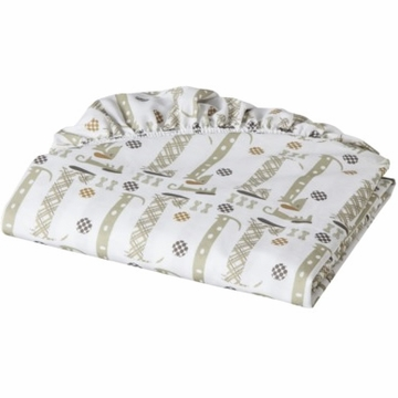 MiGi Puppy Play Crib Sheet