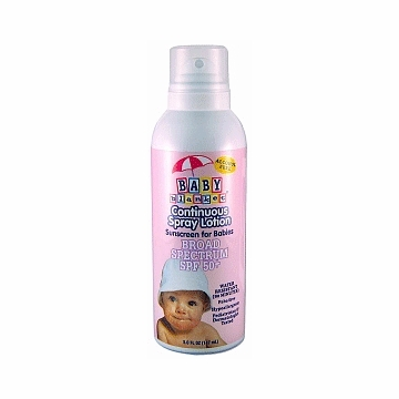 Baby Blanket Continuous Spray Lotion, SPF 50+ (5 oz)