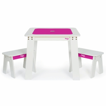 P'kolino Chalk Table in Fuchsia