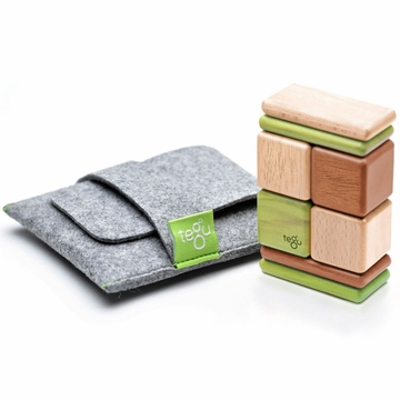 Tegu Jungle Pocket Pouch, 8 Piece
