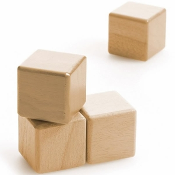 Tegu Four Cubes - Natural