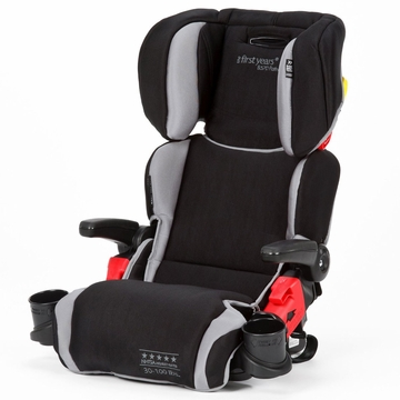 The First Years B570 Booster Car Seat - Sticks & Stones (Blank & Grey)