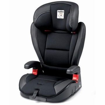 Peg Perego HBB 120 High Back Booster Car Seat in Licorice