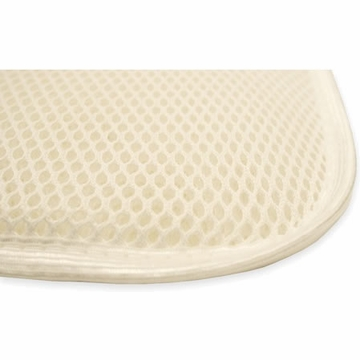 Naturepedic Non-Waterproof Flat Airflow Mattress Topper - White