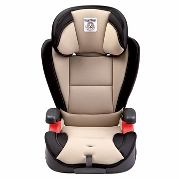Peg Perego HBB 120 High Back Booster Car Seat in Crystal Beige