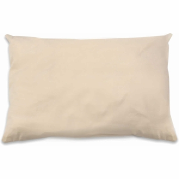Naturepedic Organic Cotton/Kapok Standard Size Pillow - Natural