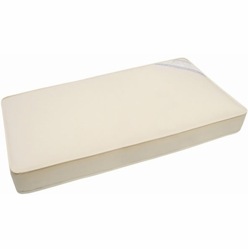 Naturepedic Organic Cotton Mini Crib Mattress 24x38x2 - Natural