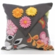 Glenna Jean Kirby Floral Charcoal Pillow