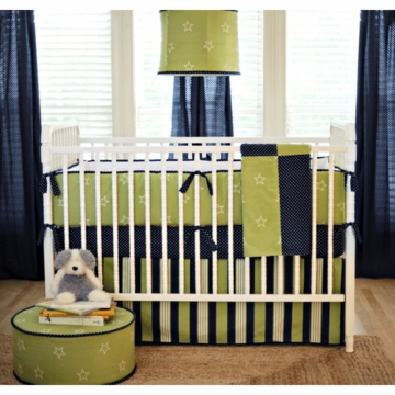 New Arrivals Boy Oh Boy 4 Piece Baby Crib Bedding Set
