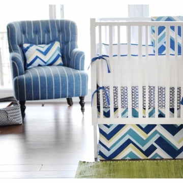 New Arrivals Clubhouse 4 Piece Baby Crib Bedding Set