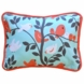 New Arrivals Feather Your Nest in Aqua Throw Pillow - 16 x 16