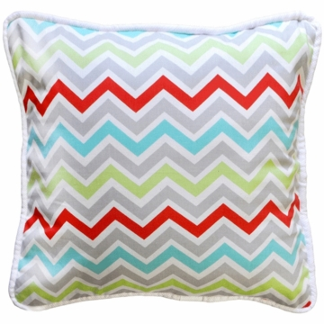 New Arrivals Jellybean Parade Throw Pillow - 16 x 16
