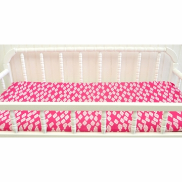 New Arrivals Penelope in Pink Changing Pad Cover