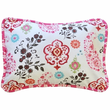 New Arrivals Penelope in Pink Throw Pillow - 16 x 16