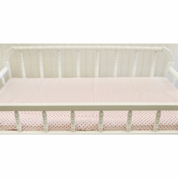 New Arrivals Ragamuffin Pink Changing Pad Cover