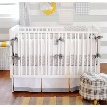 New Arrivals Scarborough Fair 4 Piece Baby Crib Bedding Set