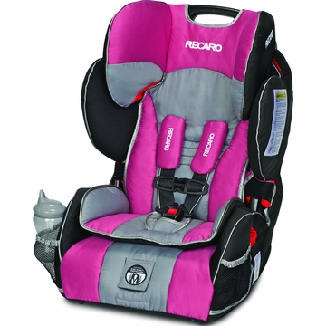 RECARO Performance SPORT Combination Harness to Booster Car Seat - Rose