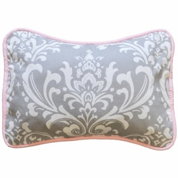 New Arrivals Stella Gray Throw Pillow - 16 x 16