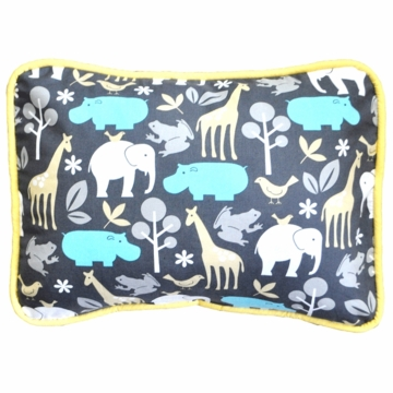 New Arrivals Urban Zoo in Grey Throw Pillow - 16 x 16