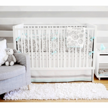 New Arrivals Wink 4 Piece Baby Crib Bedding Set