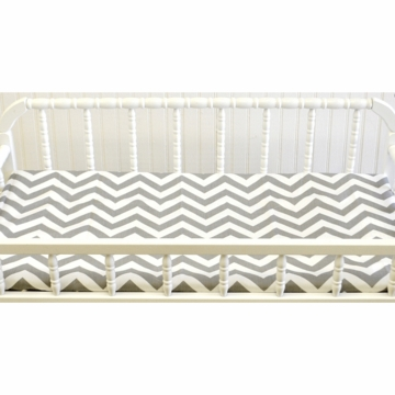 New Arrivals Zig Zag Grey Changing Pad Cover