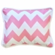 New Arrivals Zig Zag Hot Pink Throw Pillow - 16 x 16