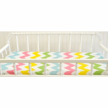 New Arrivals Zig Zag Rainbow Changing Pad Cover