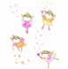 Carter's Star Wall Decals - Fairy Monkey
